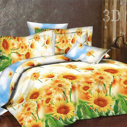 Комплект постельного белья «Янтарный подсолнух»
