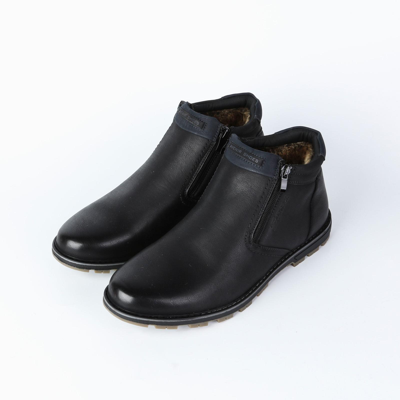 Ботинки мужские на байке