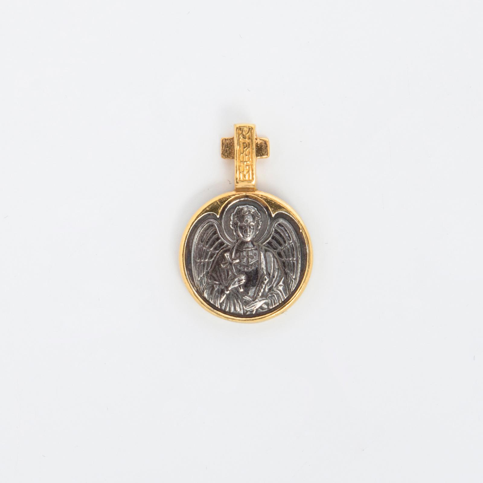 Серебряная подвеска «Николай Чудотворец»