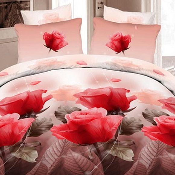 Комплект постельного белья «Розовое великолепие»
