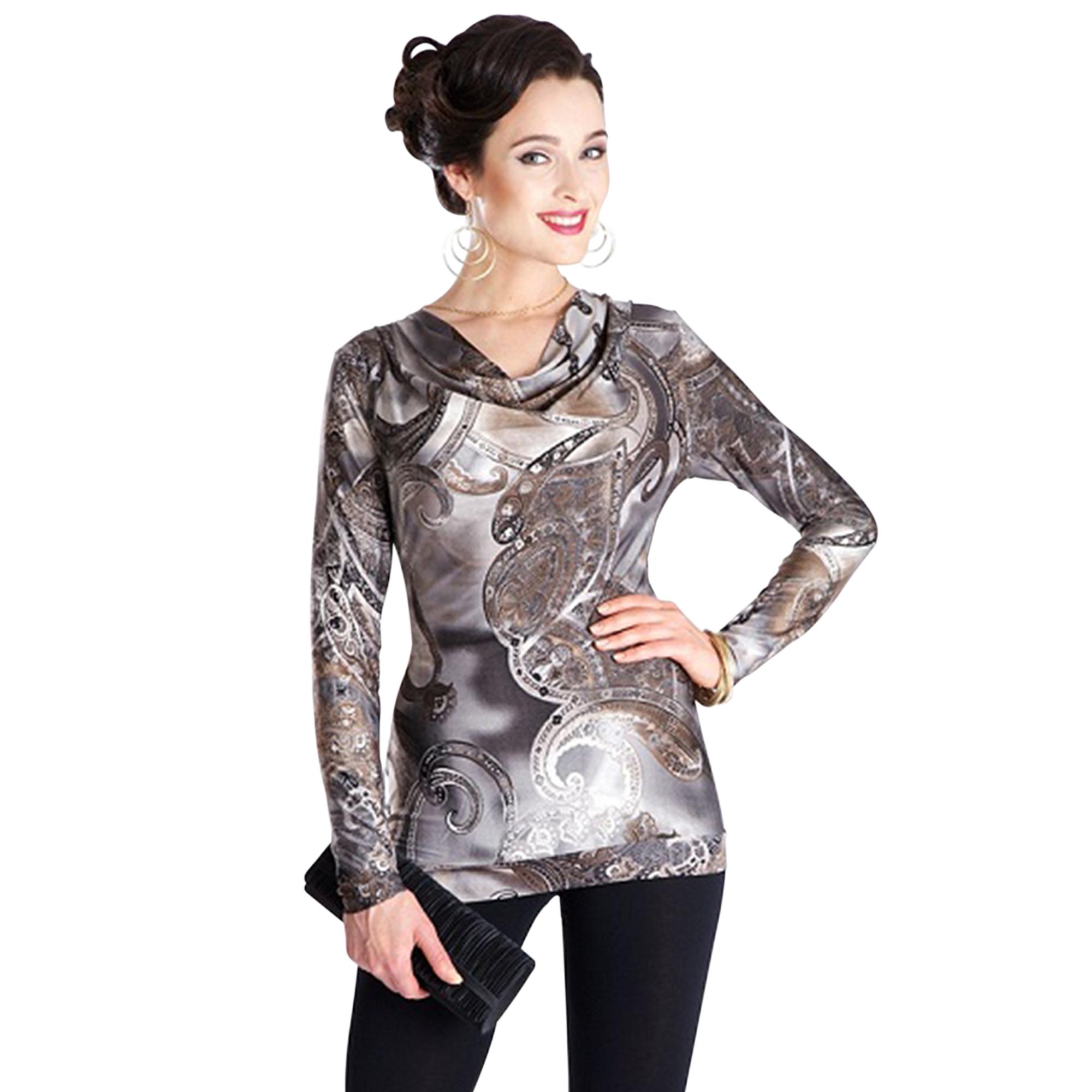 Блуза в пастельных тонах