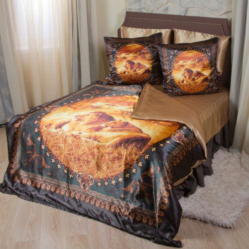 Комплект постельного белья «Золото саванны»