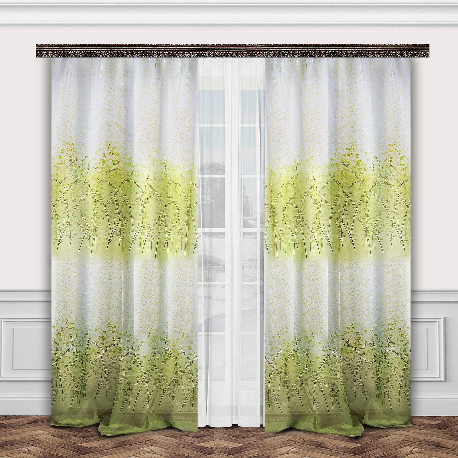 Комплект штор + тюль «Весенняя свежесть»