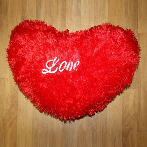 Комплект подушек «Влюбленные сердца»