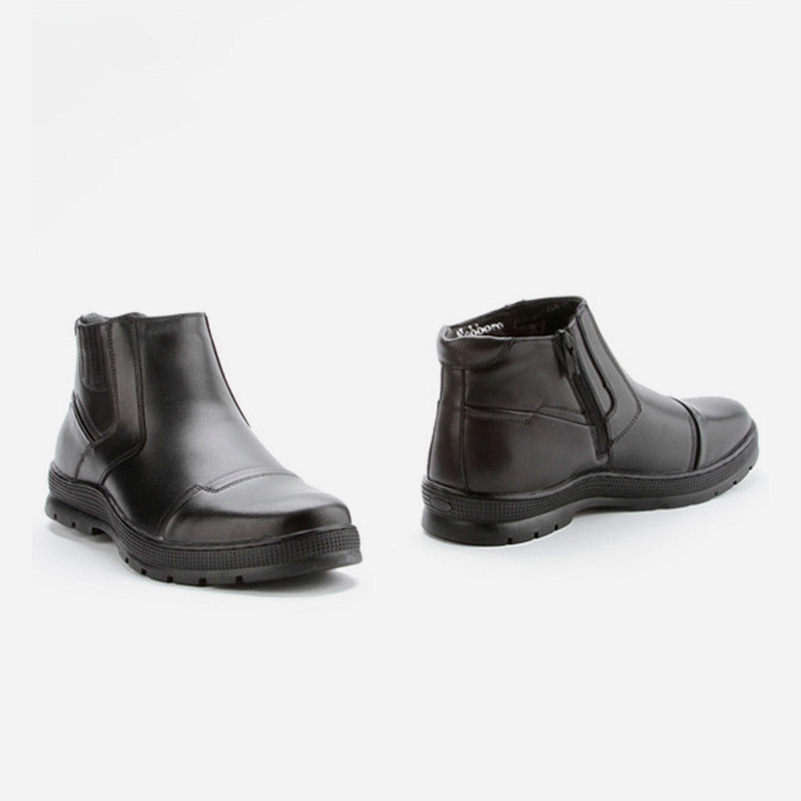 Ботинки мужские с декоративной строчкой