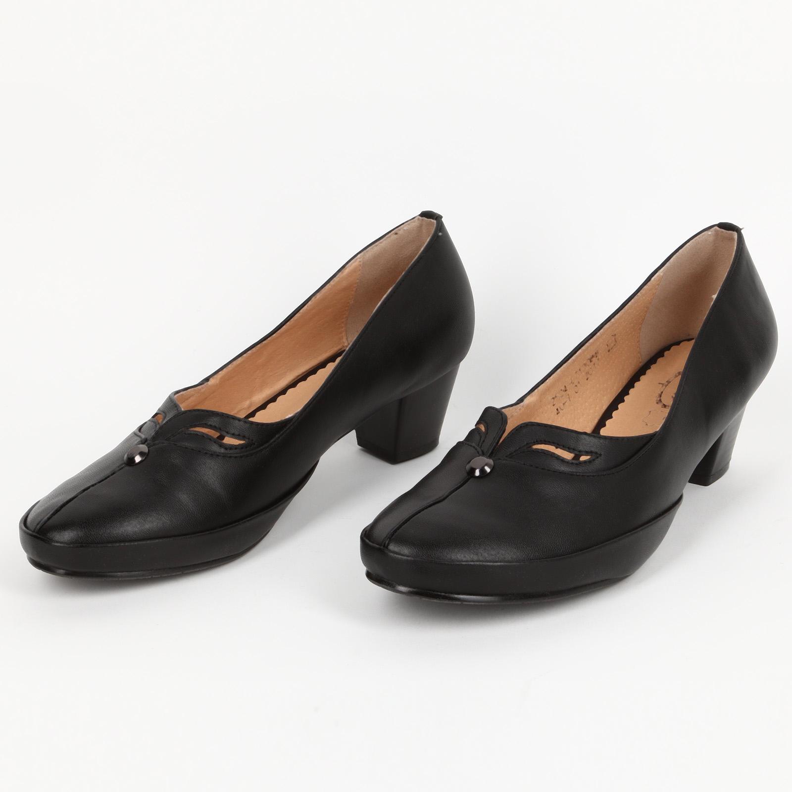 Tуфли женские на среднем каблуке