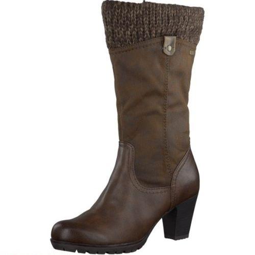 Стильные женские сапоги на удобном каблуке