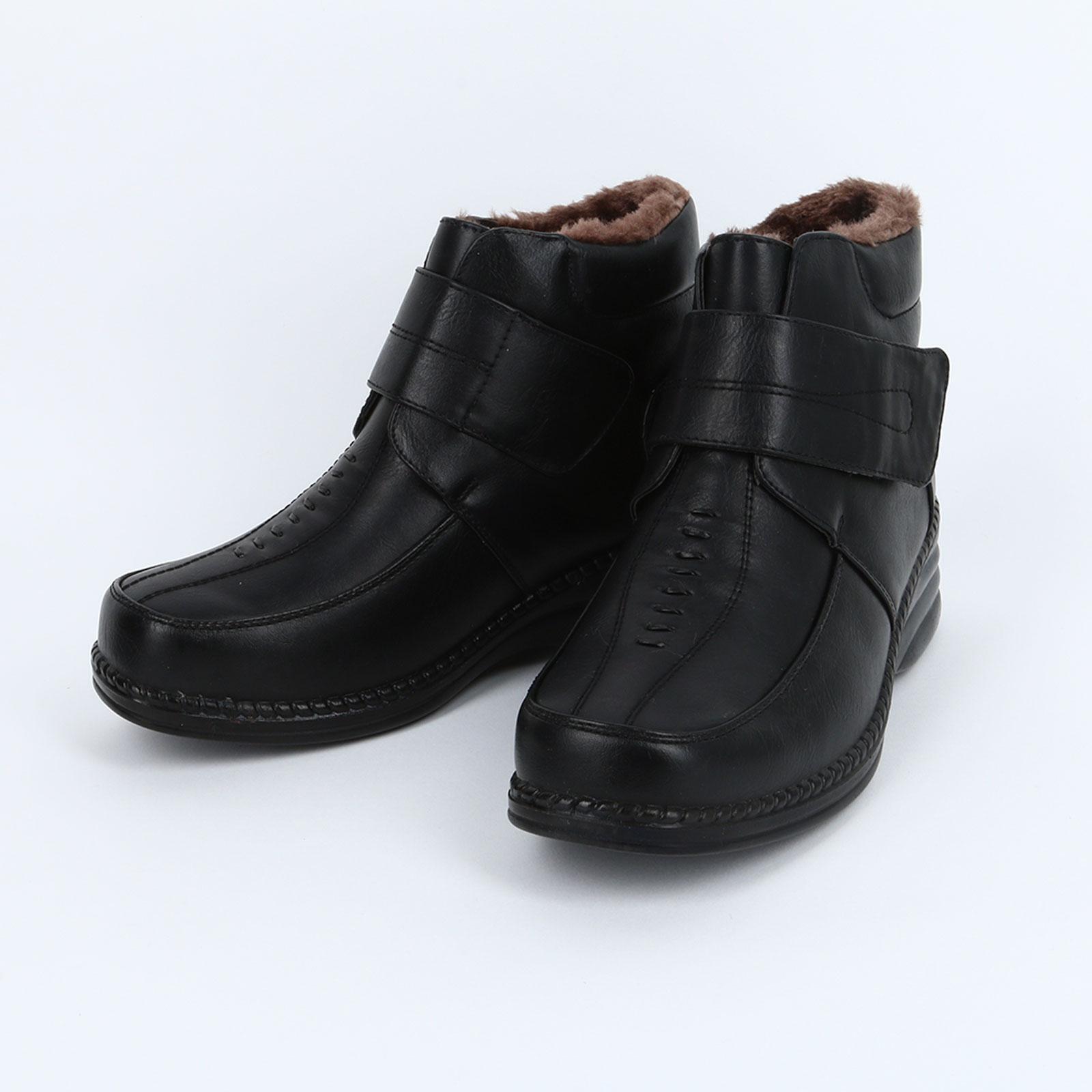 Жeнcкиe ботинки на липучке