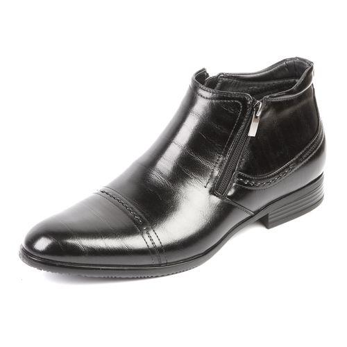 Мужские ботинки декорированные молнией