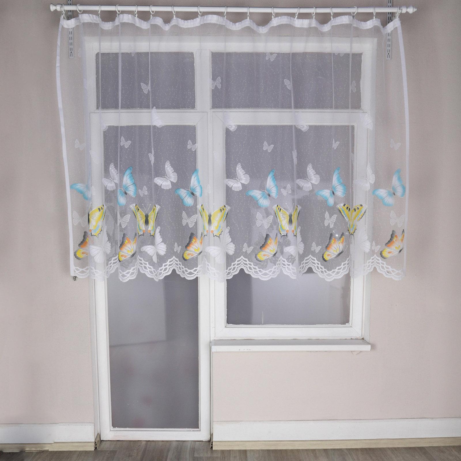 Тюль «Райские бабочки»