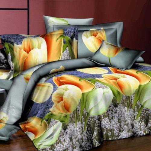 Комплект постельного белья «Нежный тюльпан»