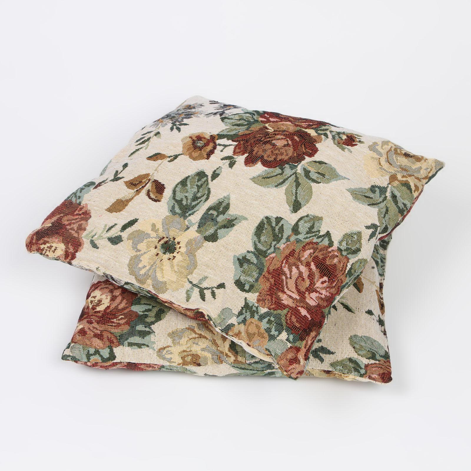 Комплект из 2-х декоративных подушек «Нежный пион»