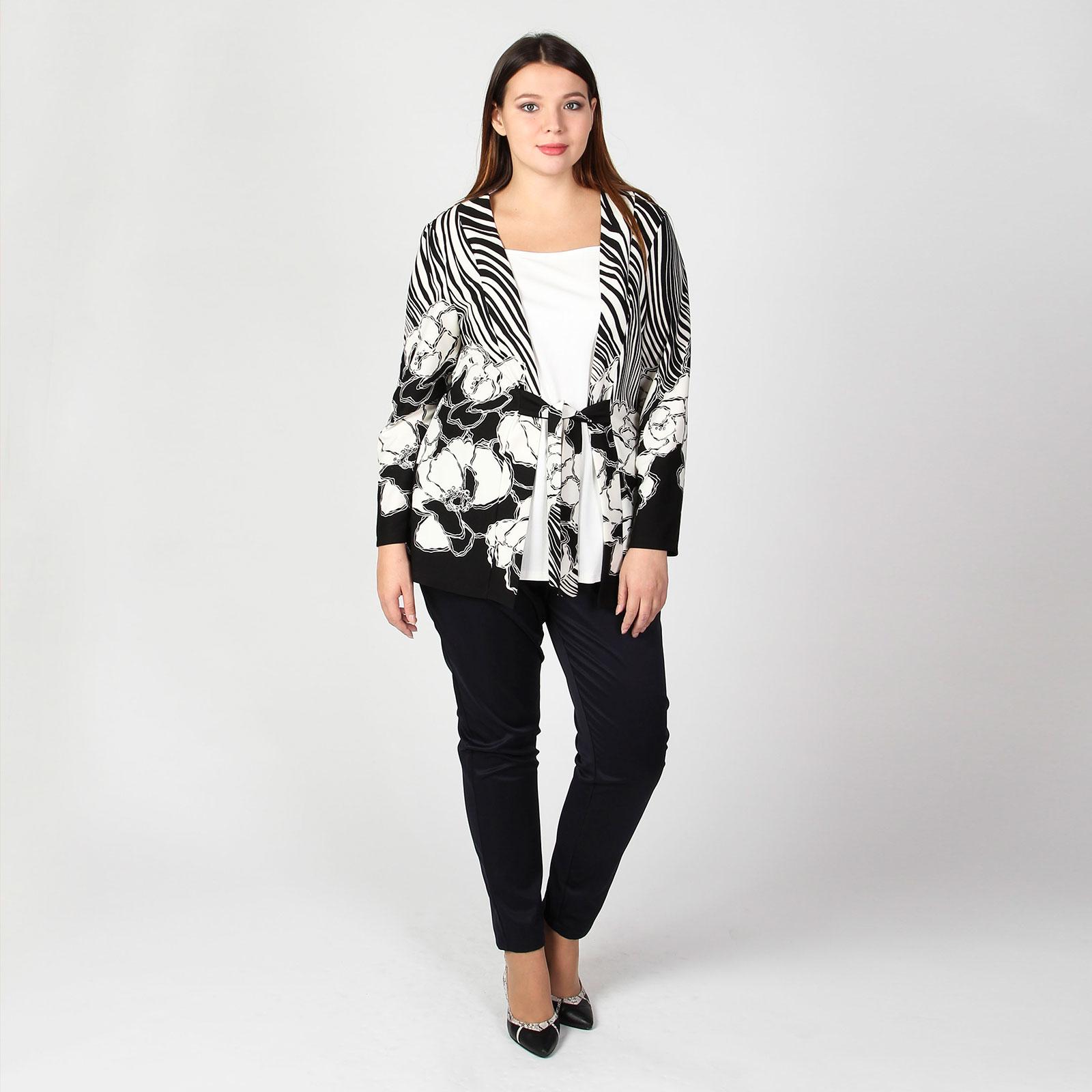 Блуза с имитацией «двойки»