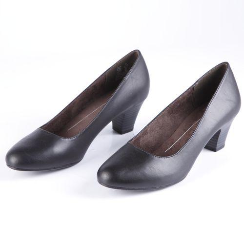 Туфли женские с закругленным мысом