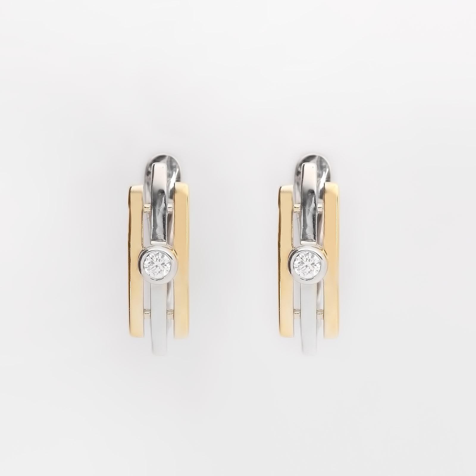 Серебряные серьги «Америка» серьги с подвесками эстет серебряные серьги с куб циркониями и пластиком est01с2510678 10z