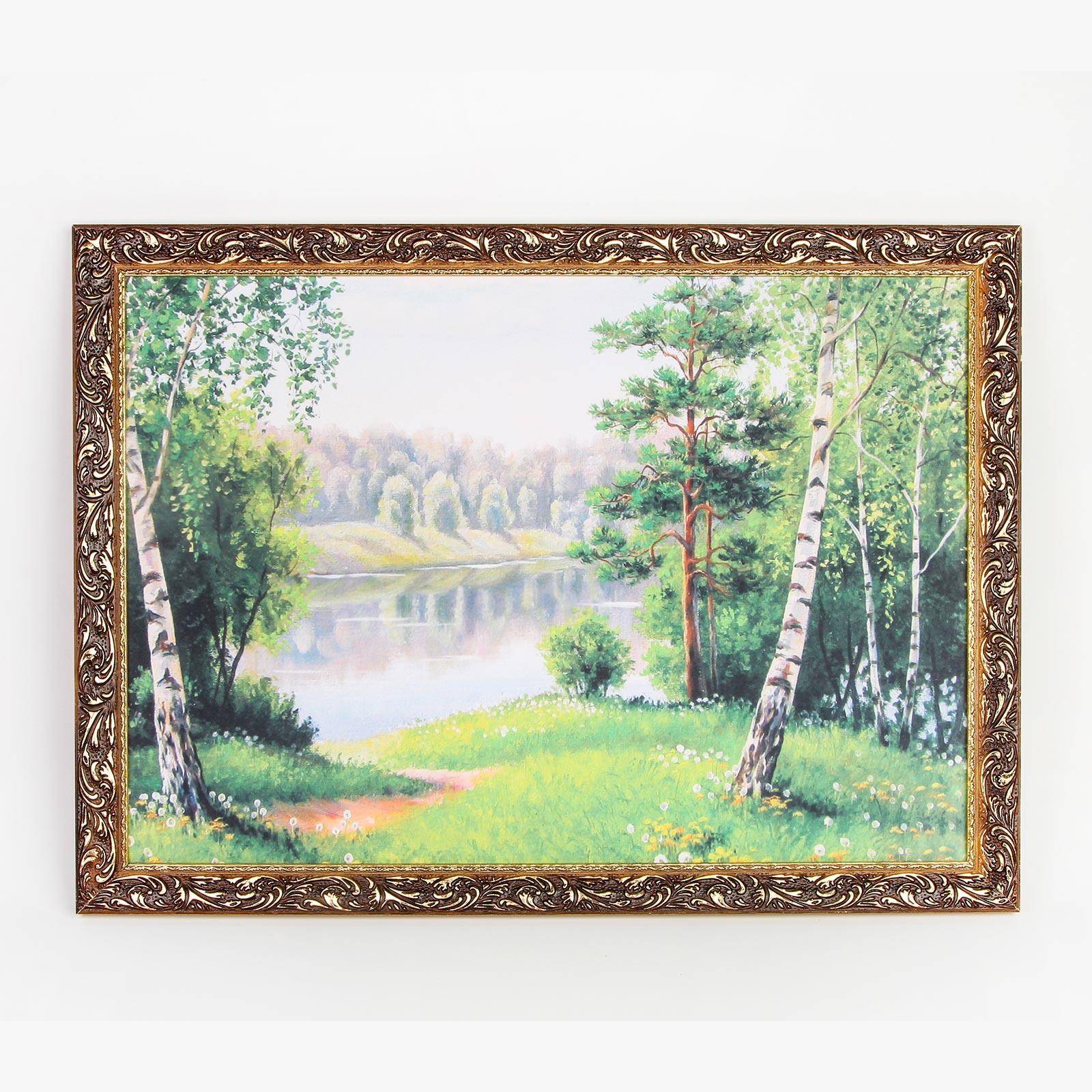 Картина на холсте в багете