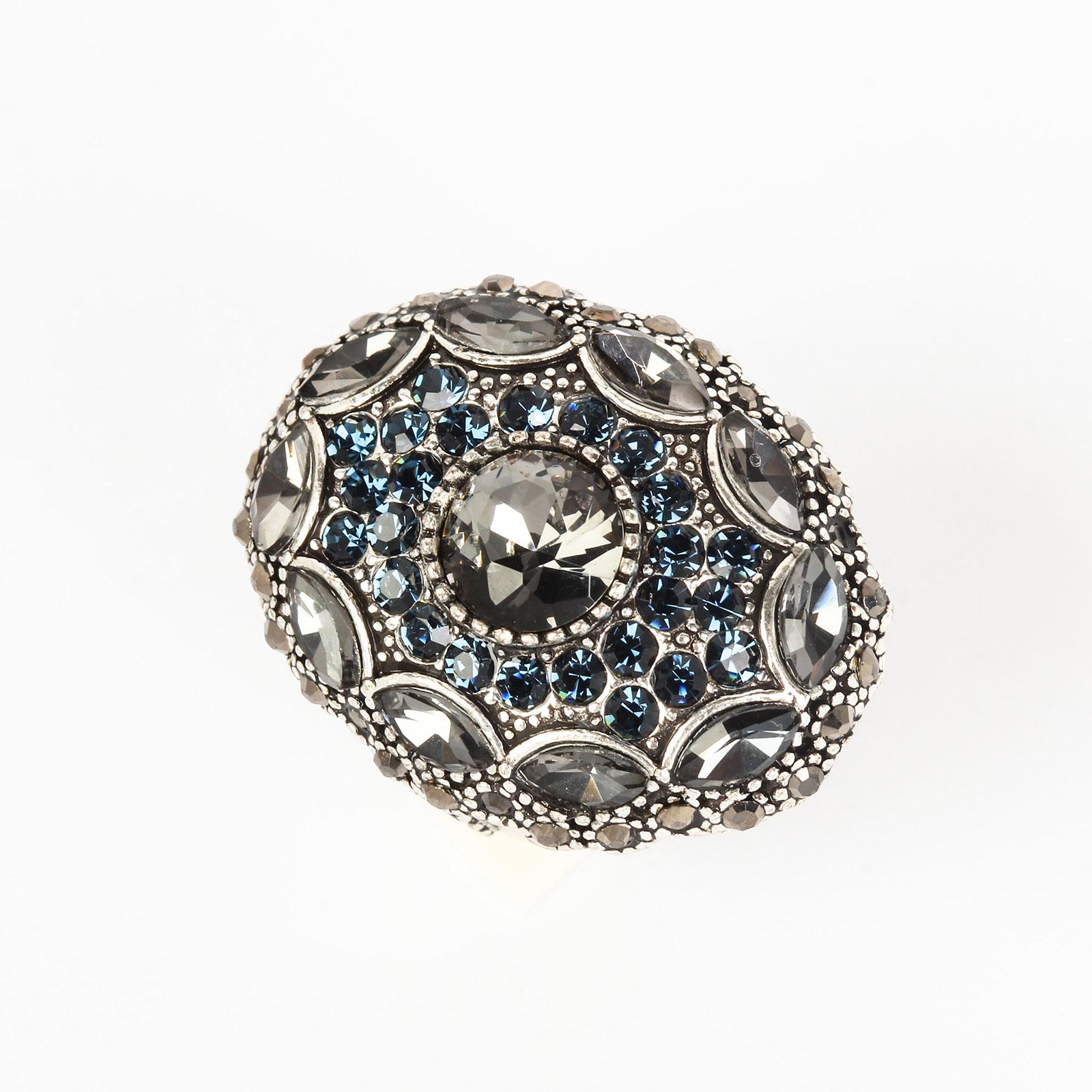 Кольцо «Лазурный цветок»