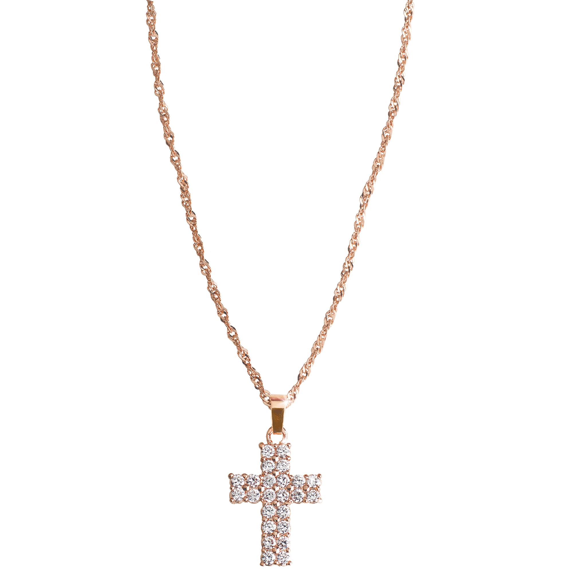 Декоративная подвеска-крест