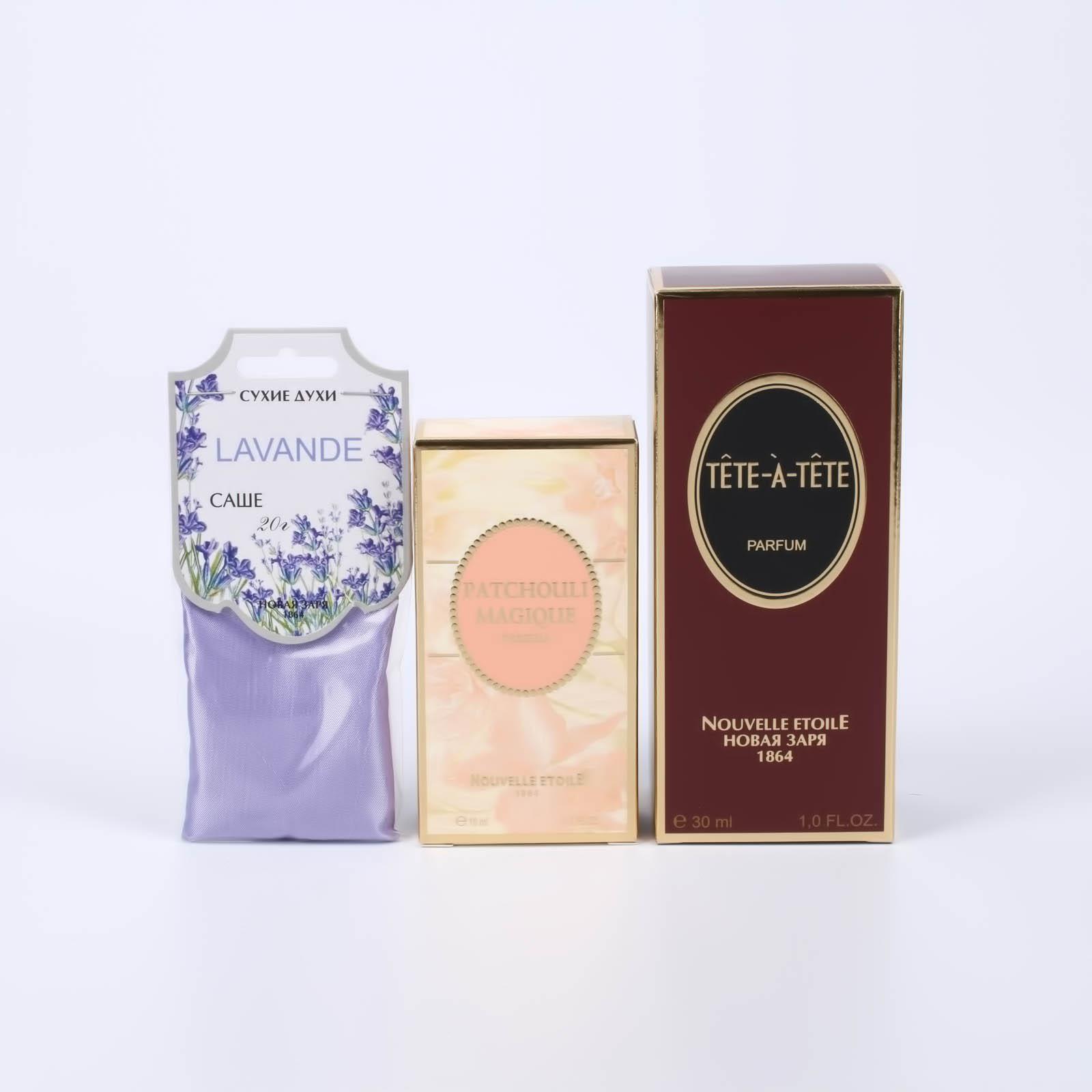 Подарочный набор духов «Тет-а-тет» и «Волшебство Пачули»