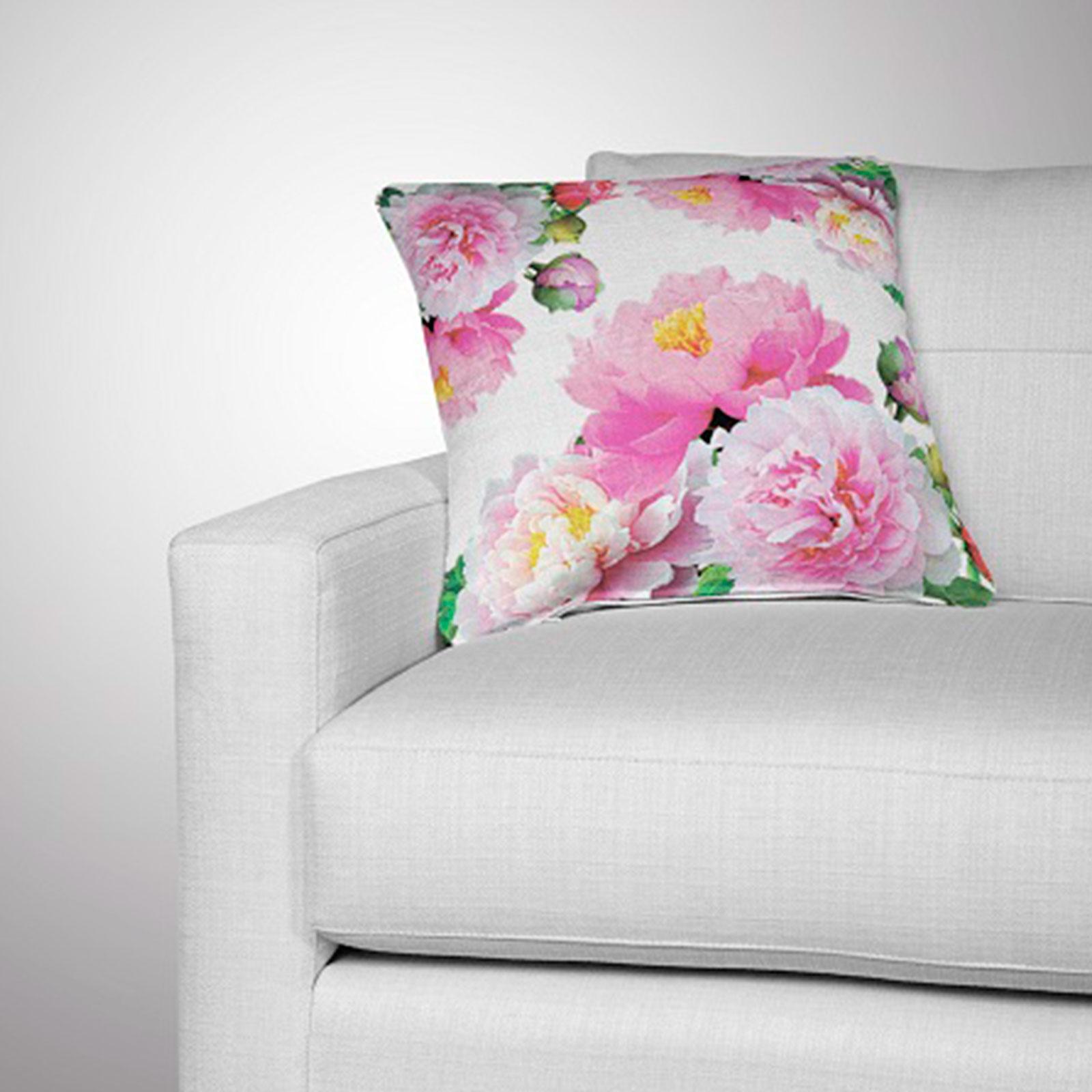 Комплект из 2-х декоративных подушек «Бутон пиона»