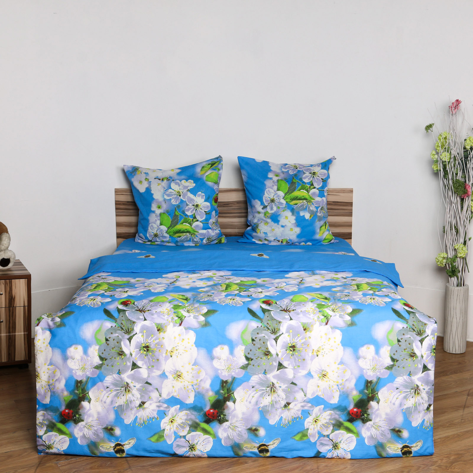 Комплект постельного белья «Небесные цветы»