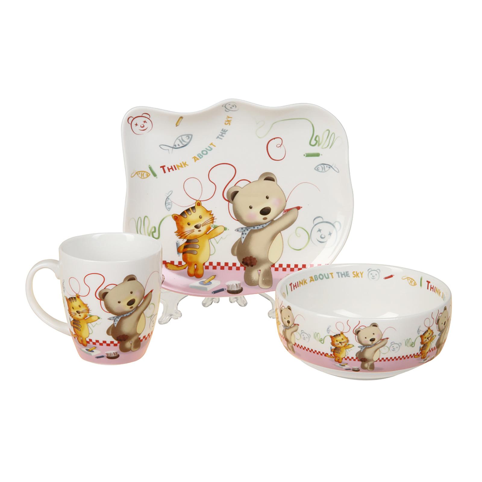 Набор детской посуды rosenberg набор детской посуды 8786