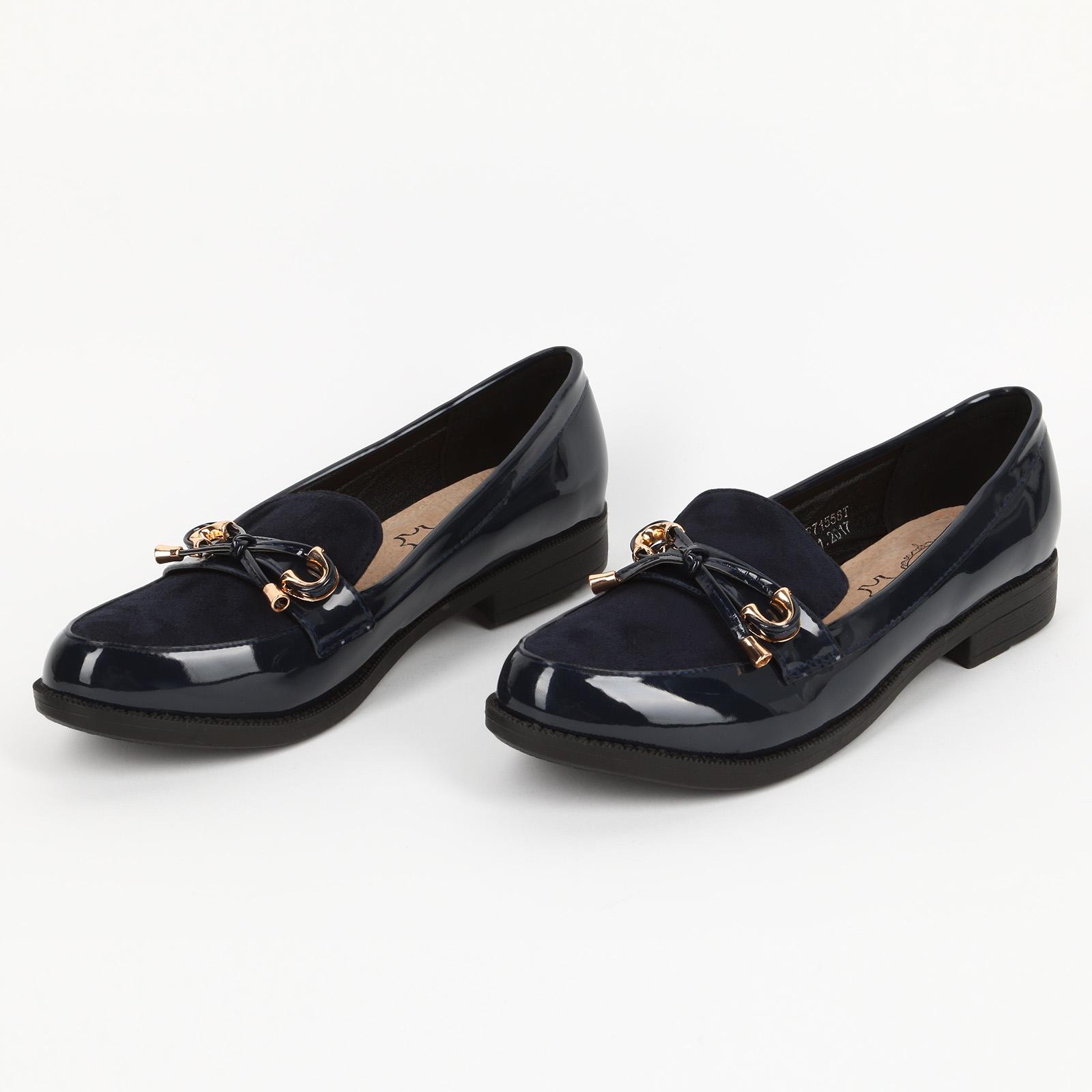 Женские туфли украшенные бантиком