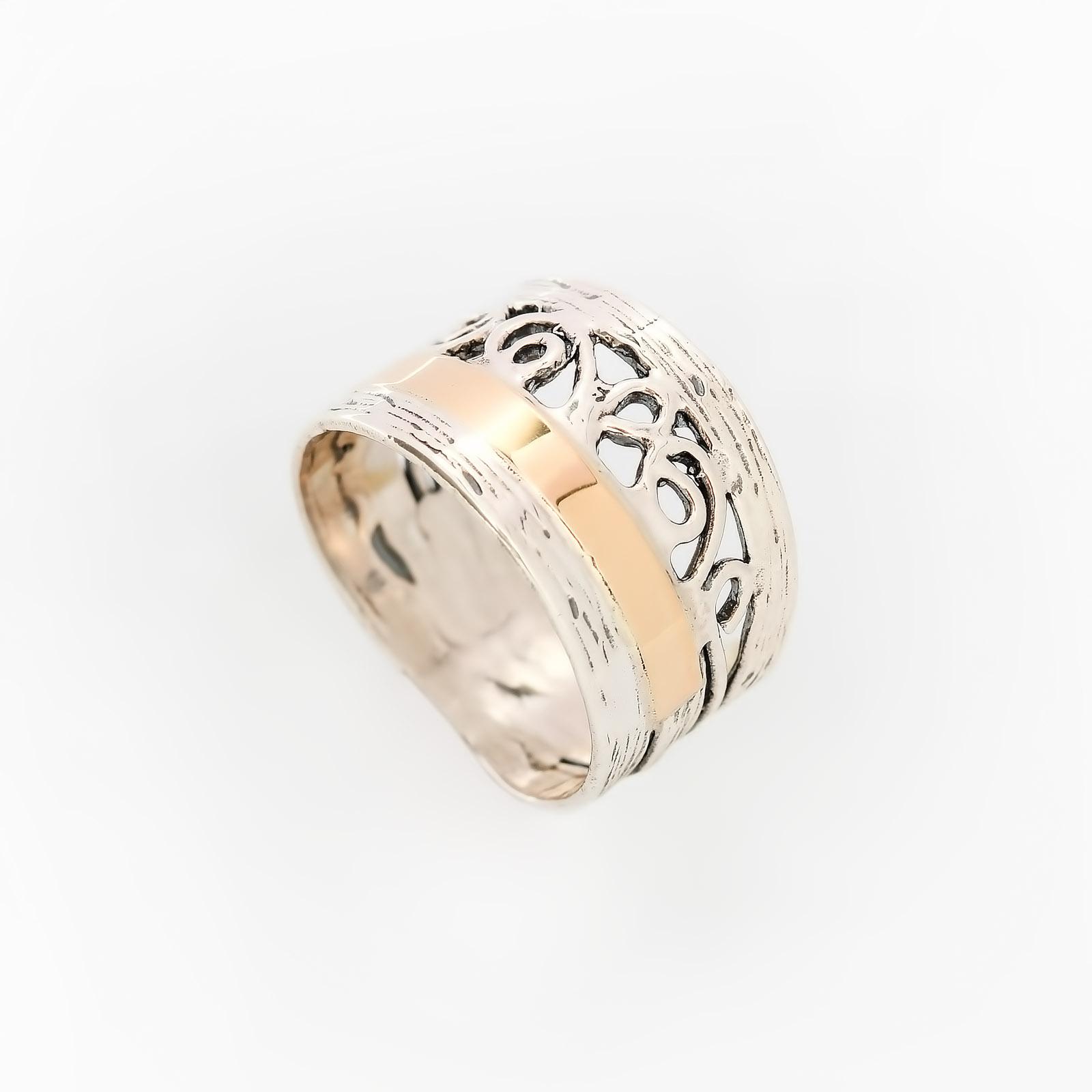 Серебряное кольцо «Подарок для королевы»