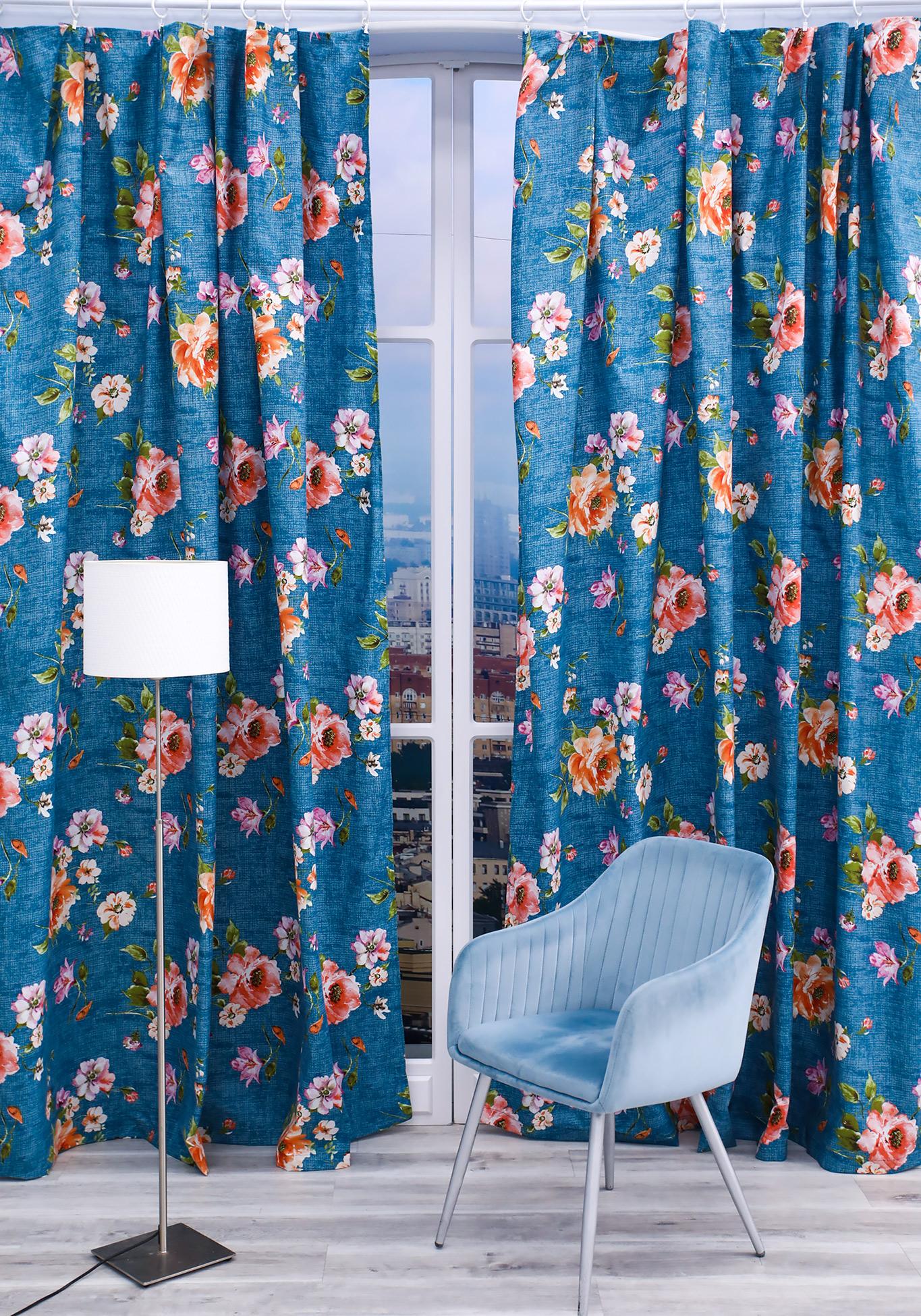 Комплект портьер Лаура комплект портьер цветочный каприз