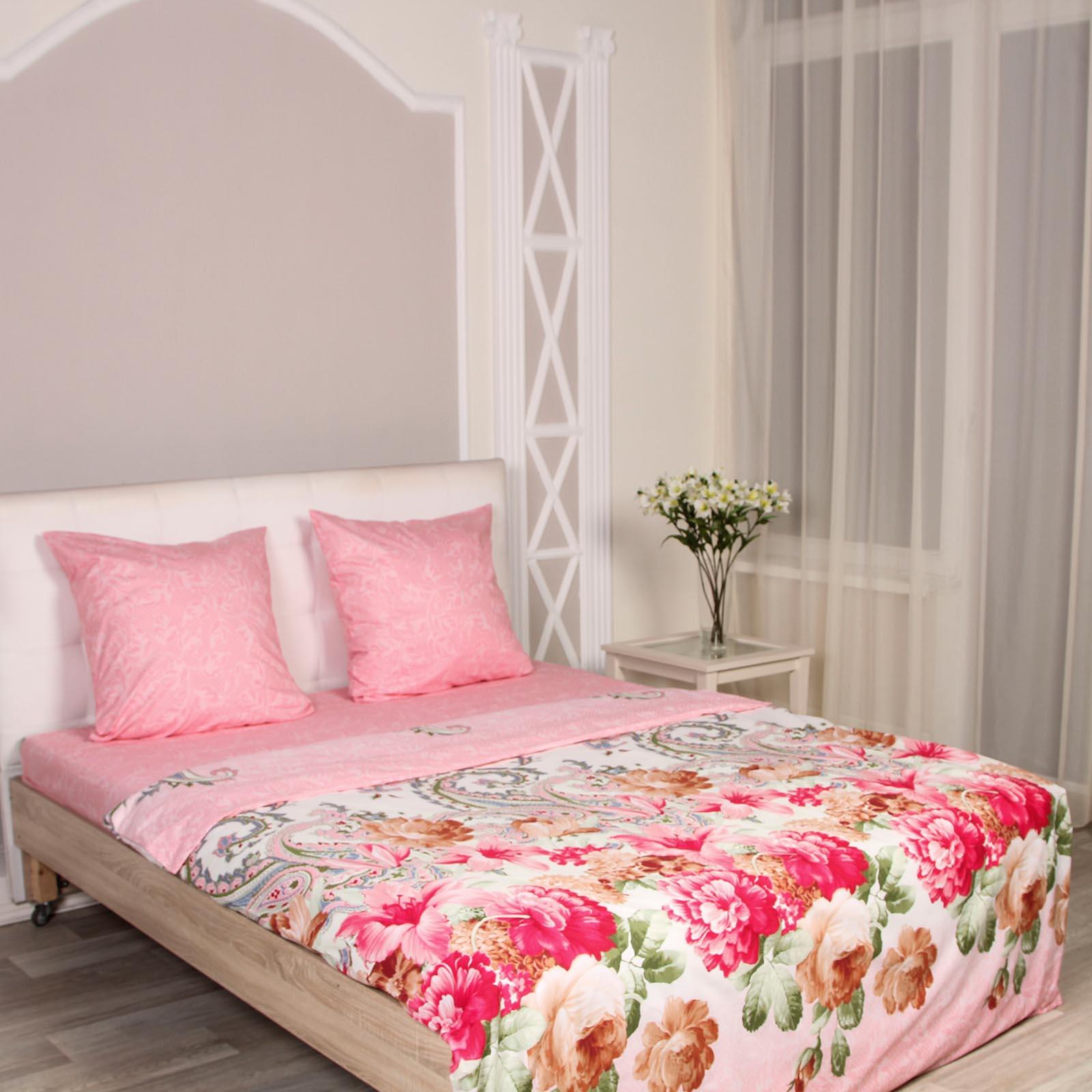 Комплект постельного белья «Розовый букет»