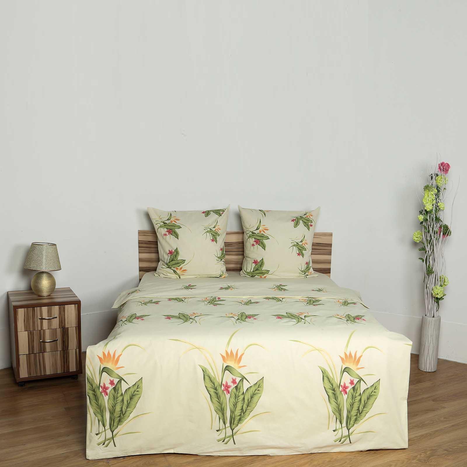Комплект постельного белья «Кремовый ноктюрн»
