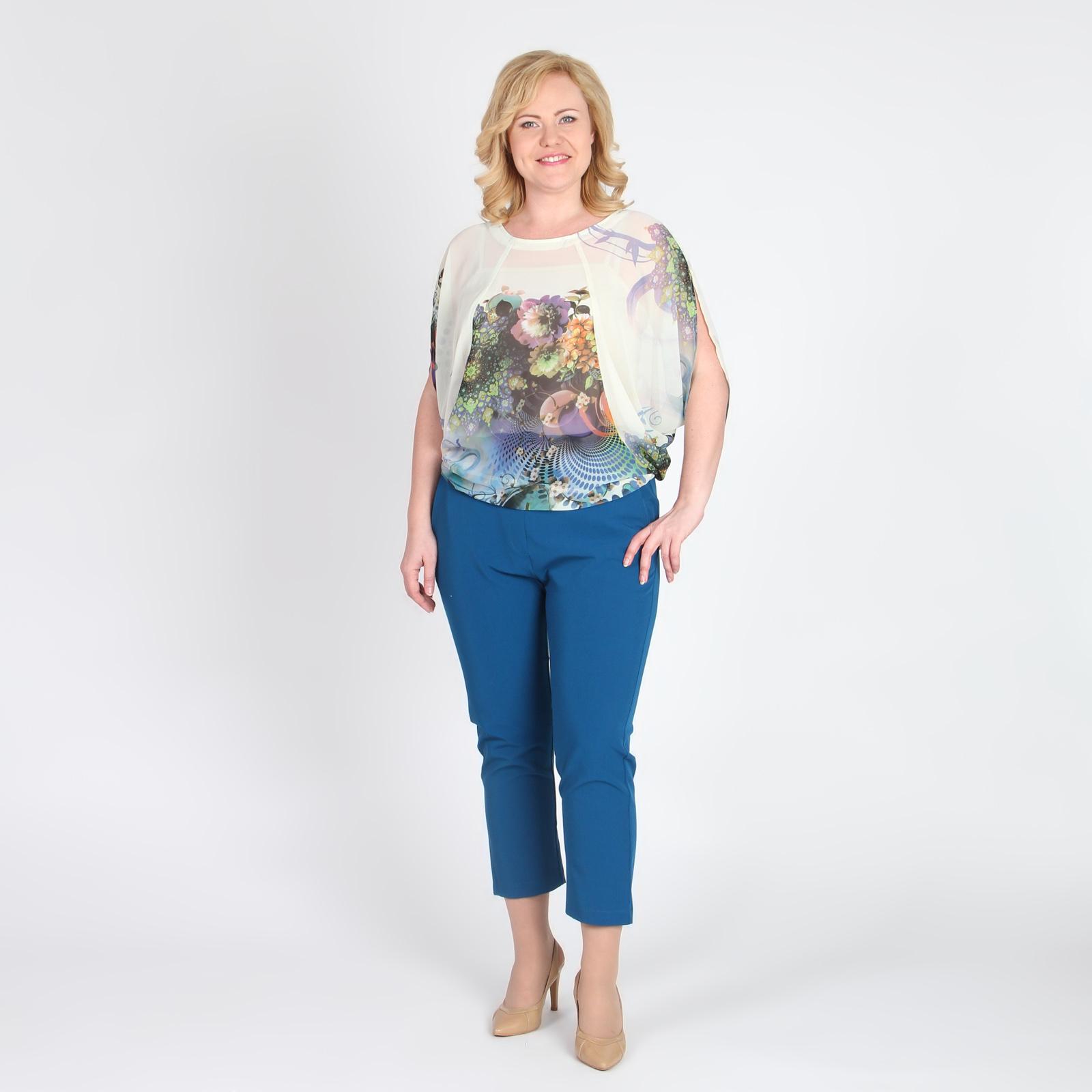 Женские брюки зауженные к низу