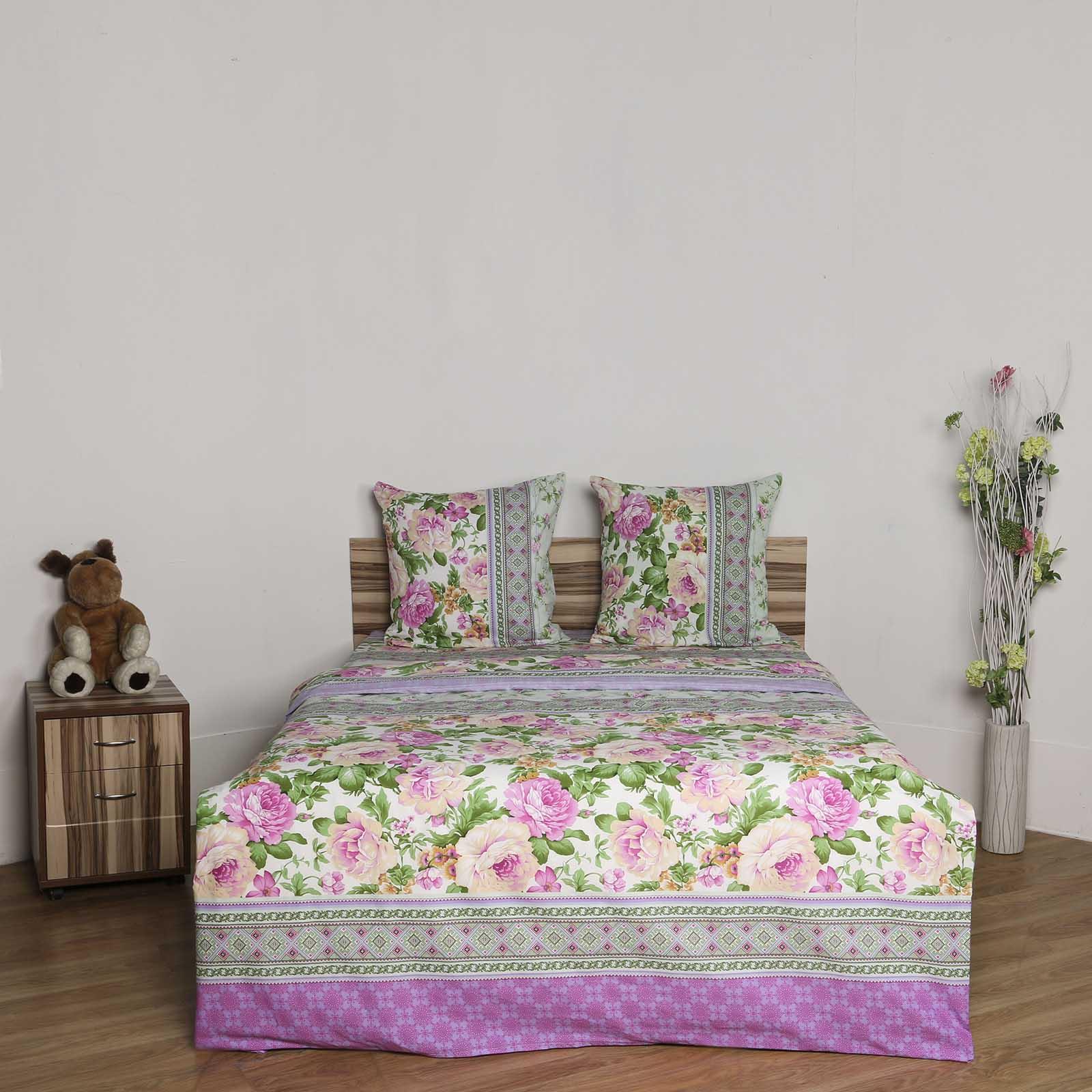 Комплект постельного белья «Цветочный Этюд»
