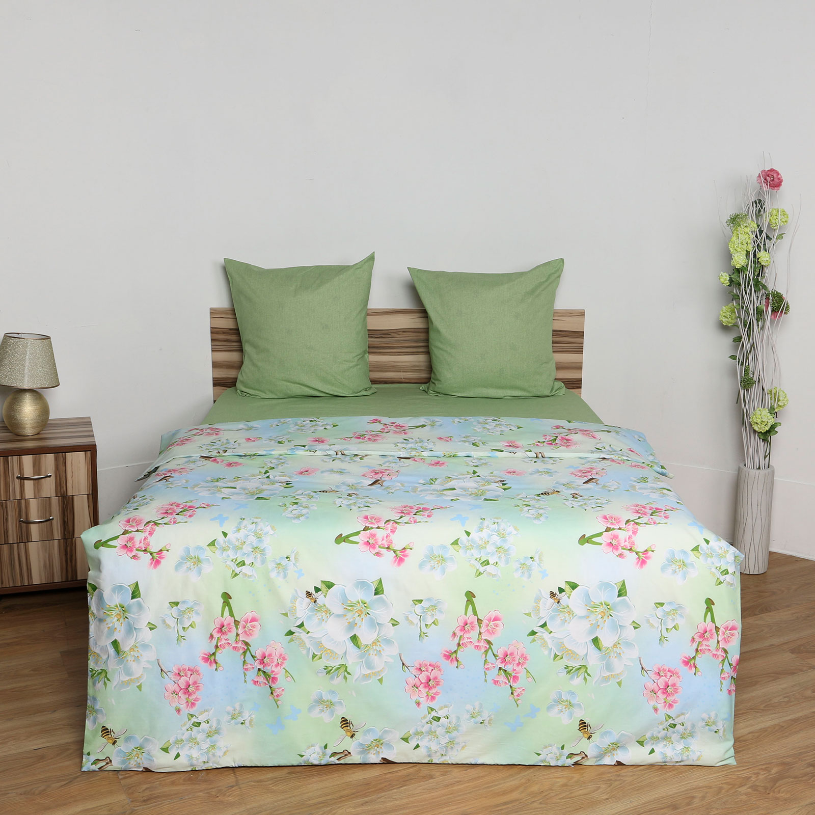 Комплект постельного белья «Цветочный нектар»