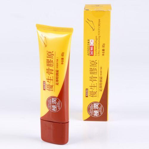 Ультра-увлажняющий крем для ног Collagen