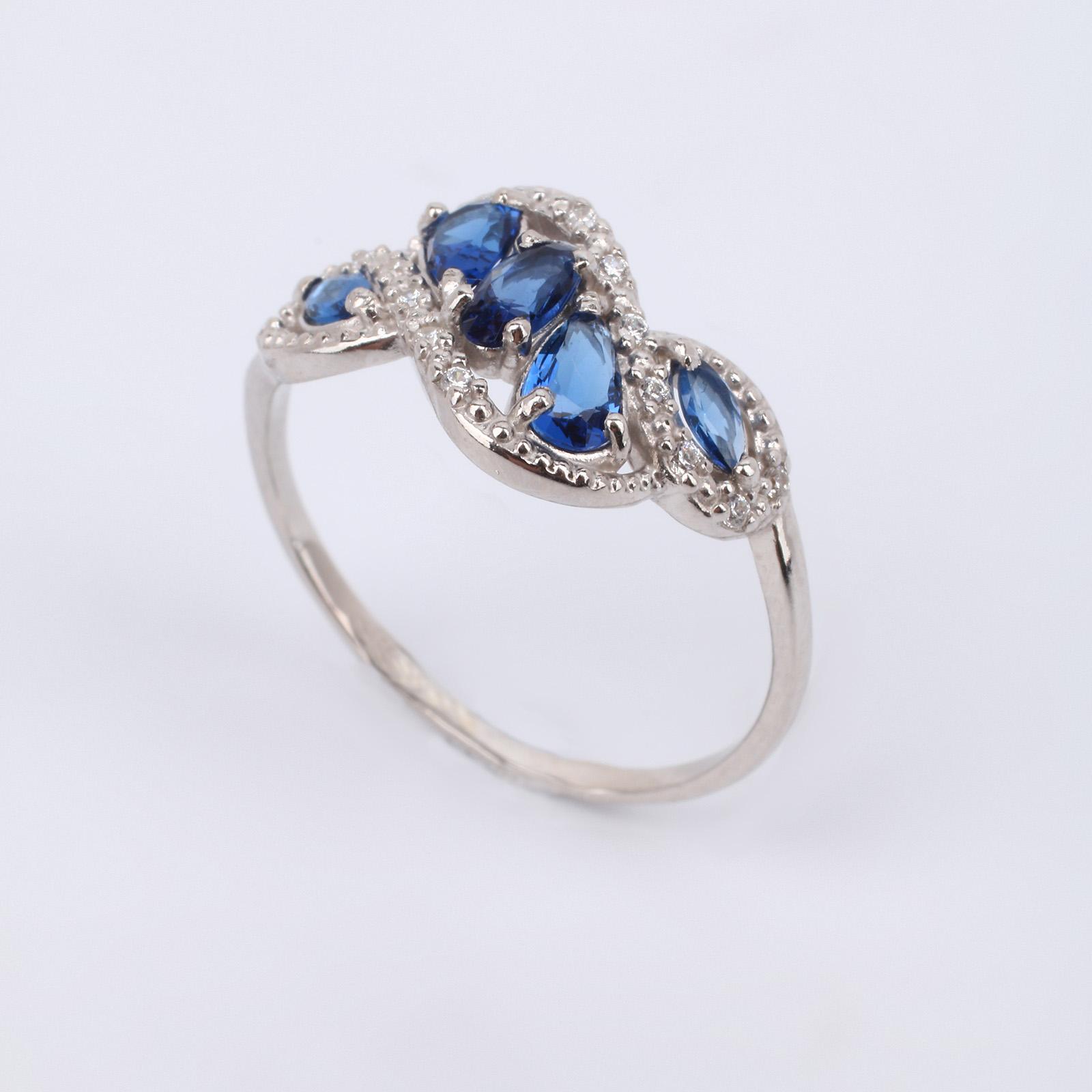 "Серебряное кольцо ""Волшебное кружево"""