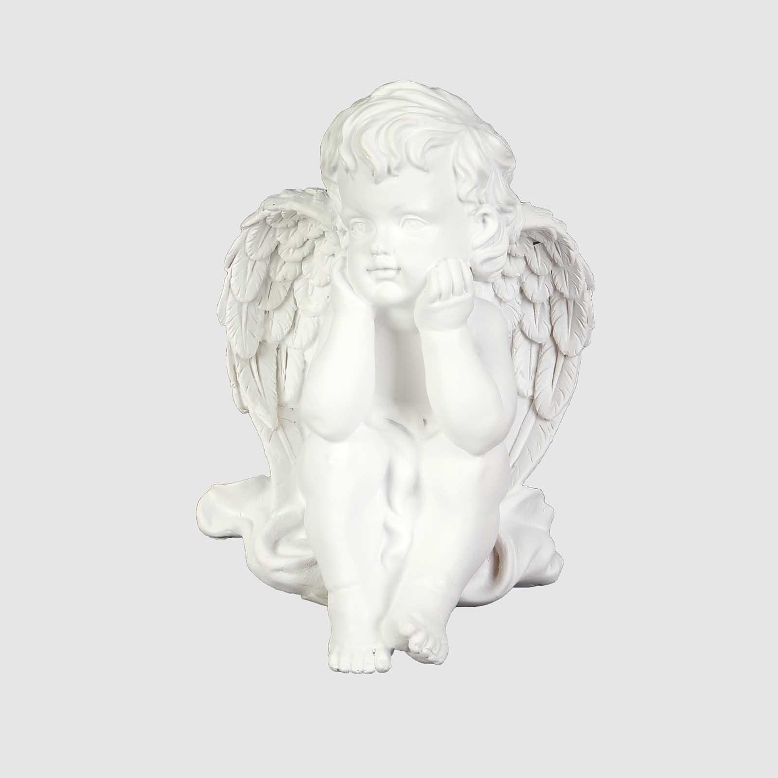 Фигурка декоративная «Мечтающий ангел»