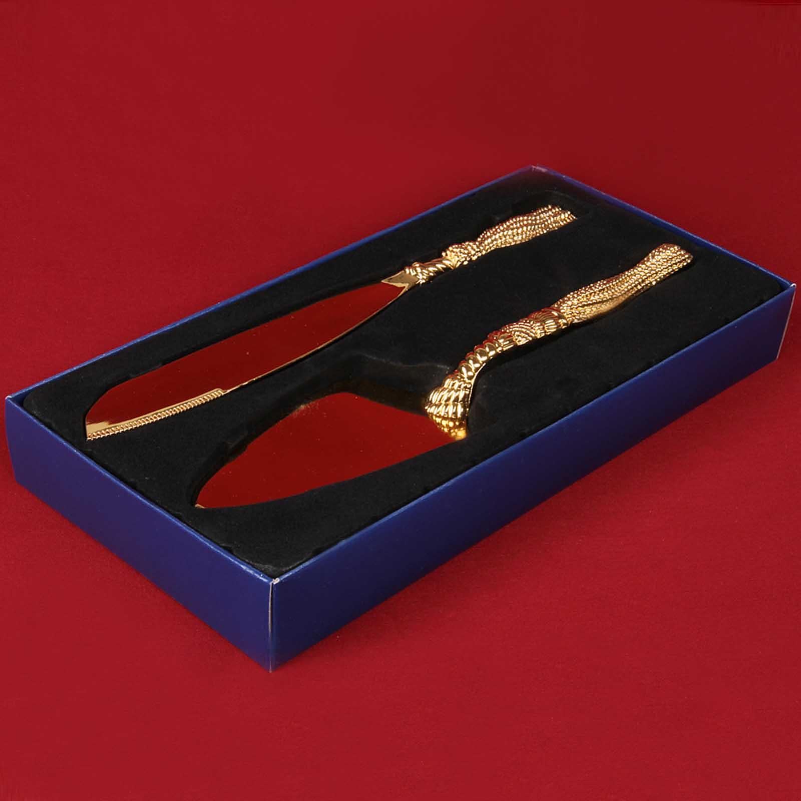 Набор столовых приборов «Магия золота»
