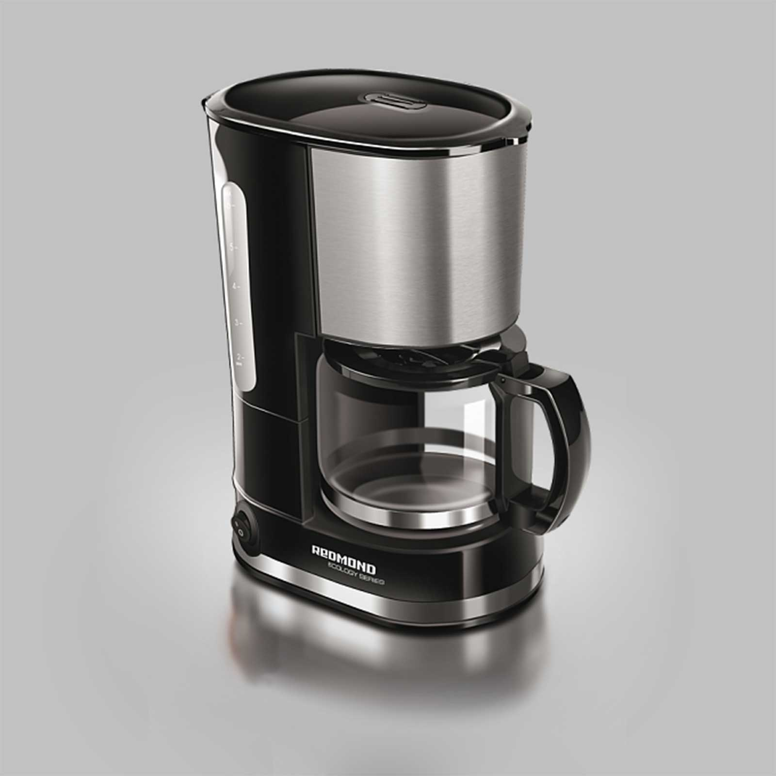 Кофеварка с функцией автоподогрева и «анти капля»