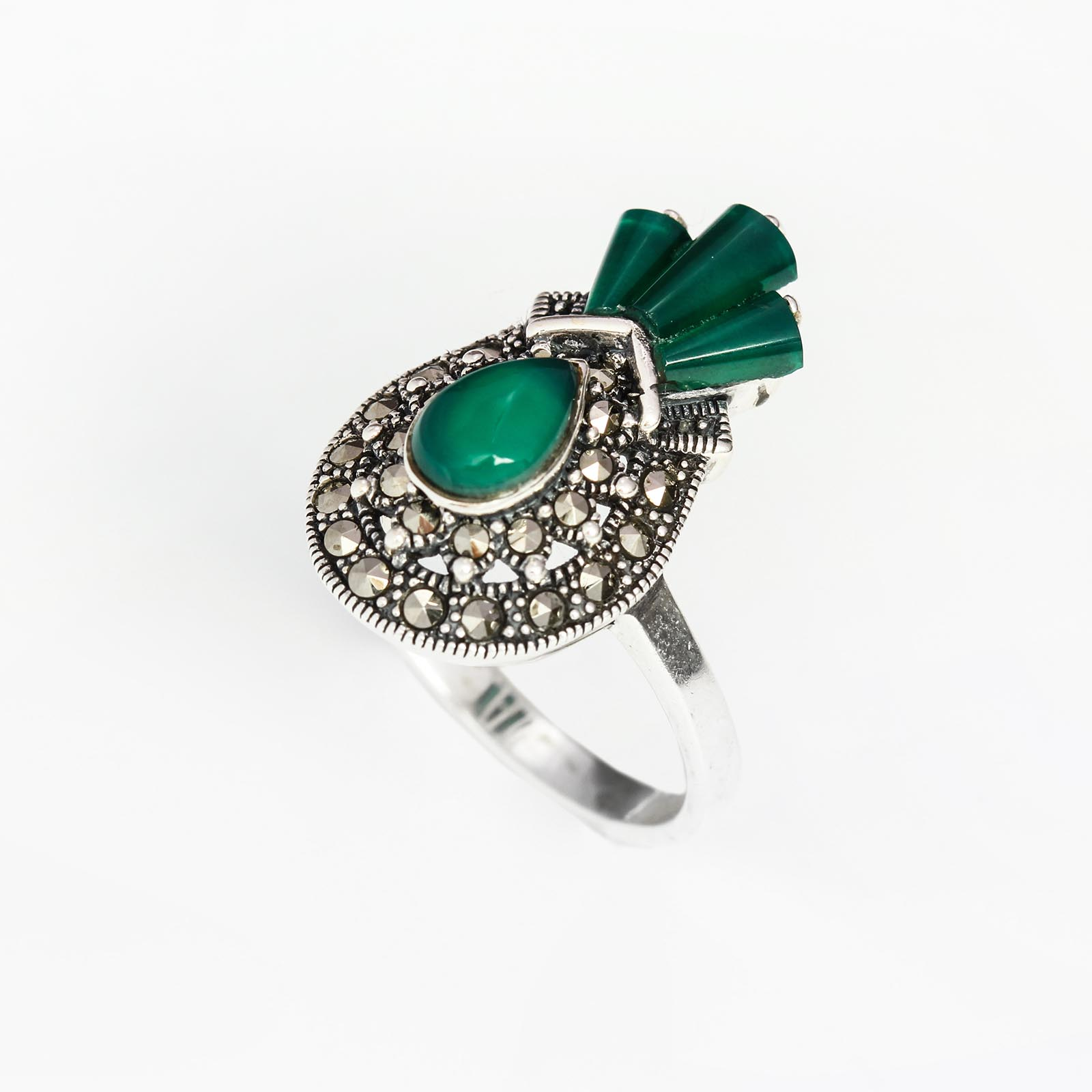 Серебряное кольцо «Лирика»