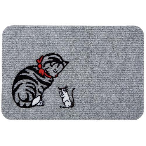 Коврик «Веселая буренка» и «Сытый кот»