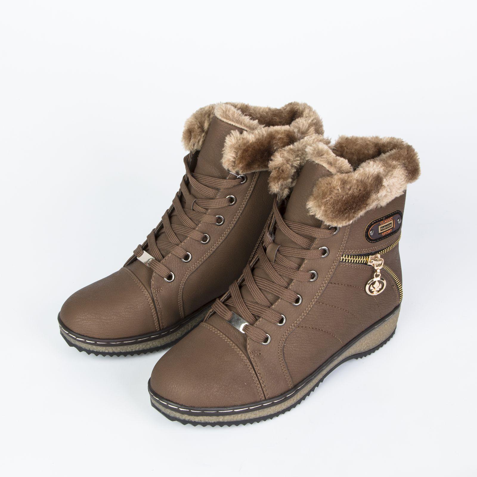 Ботинки женские на удобной шнуровке