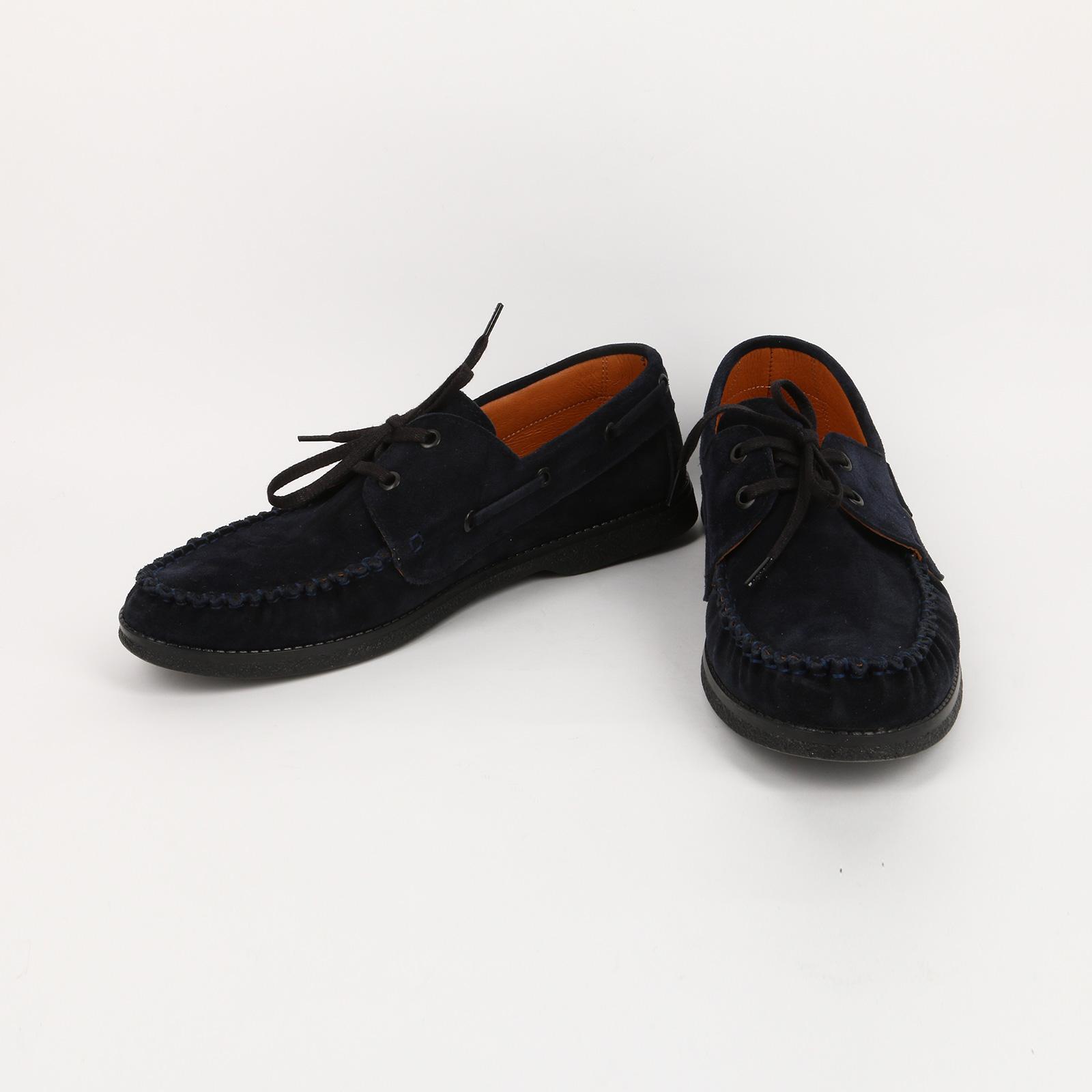 Туфли мужские декорированные шнуровкой