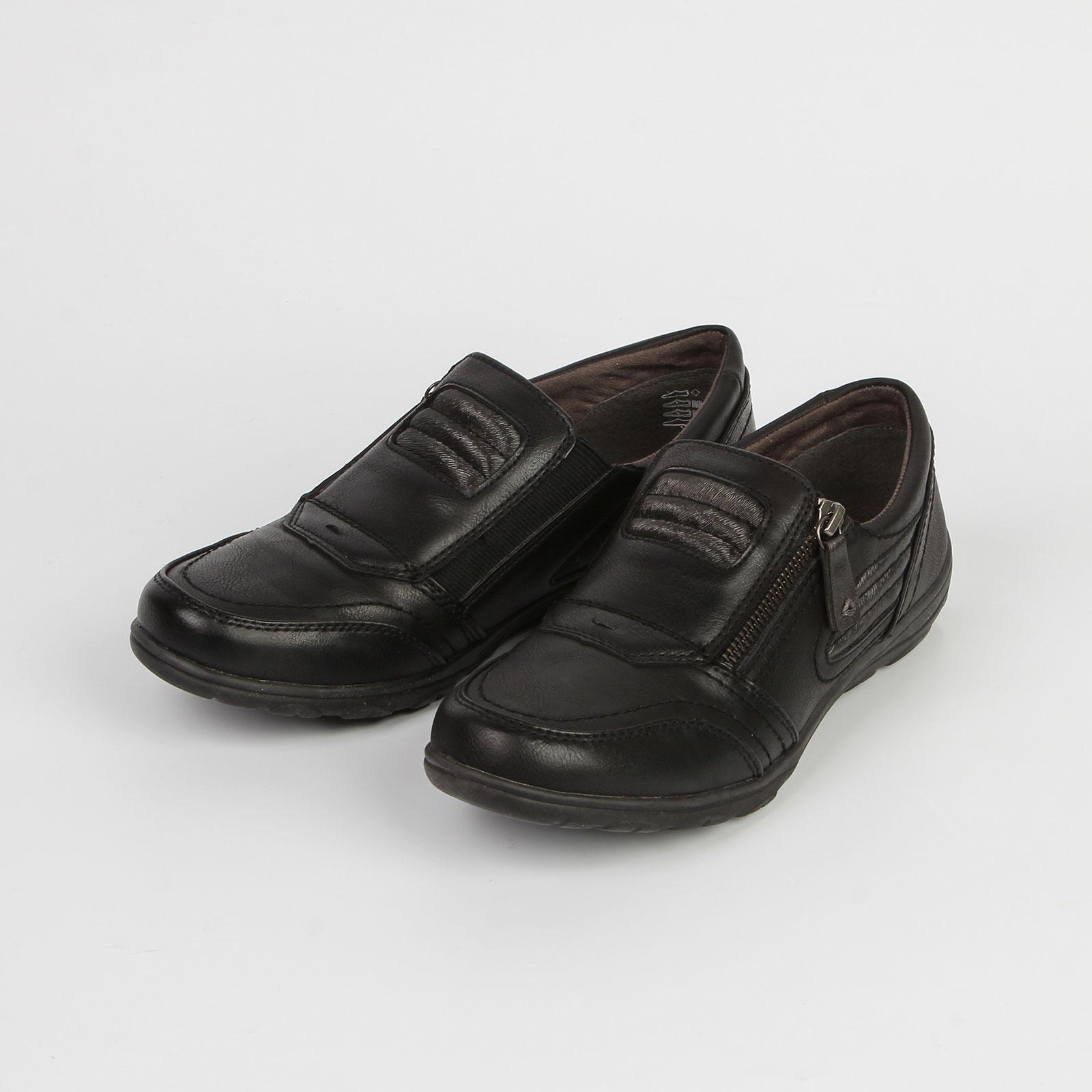 Туфли женские на молнии