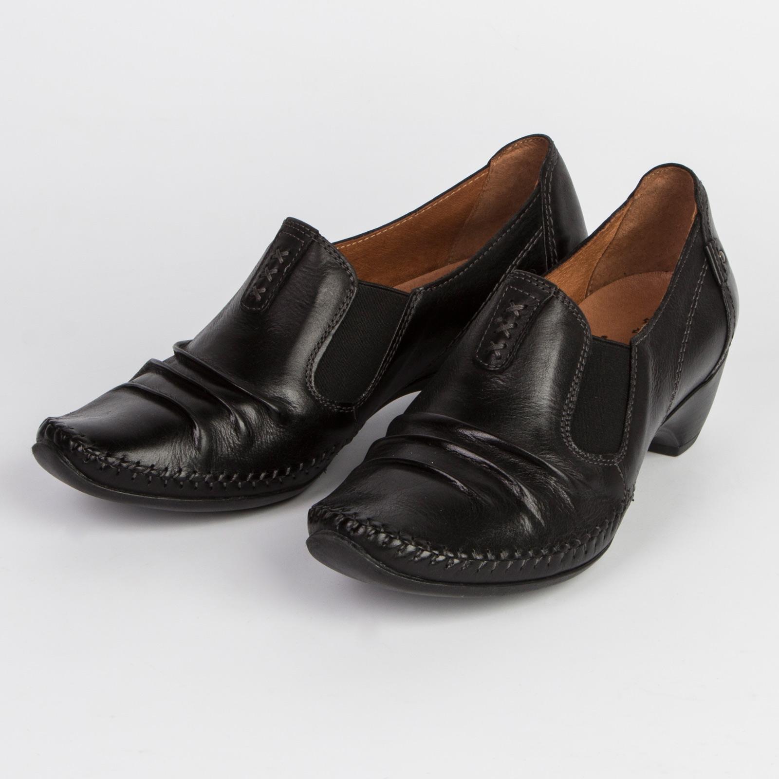 Женские закрытые туфли из натуральной кожи
