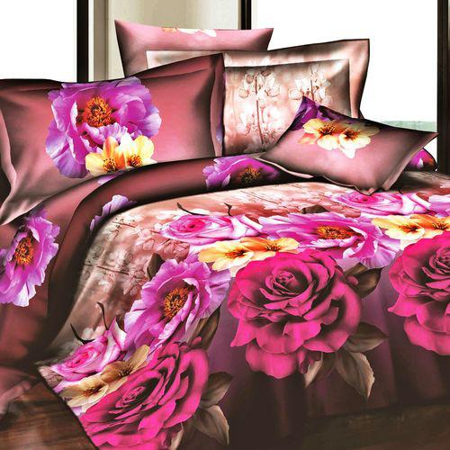 Комплект постельного белья «Розовый рассвет»