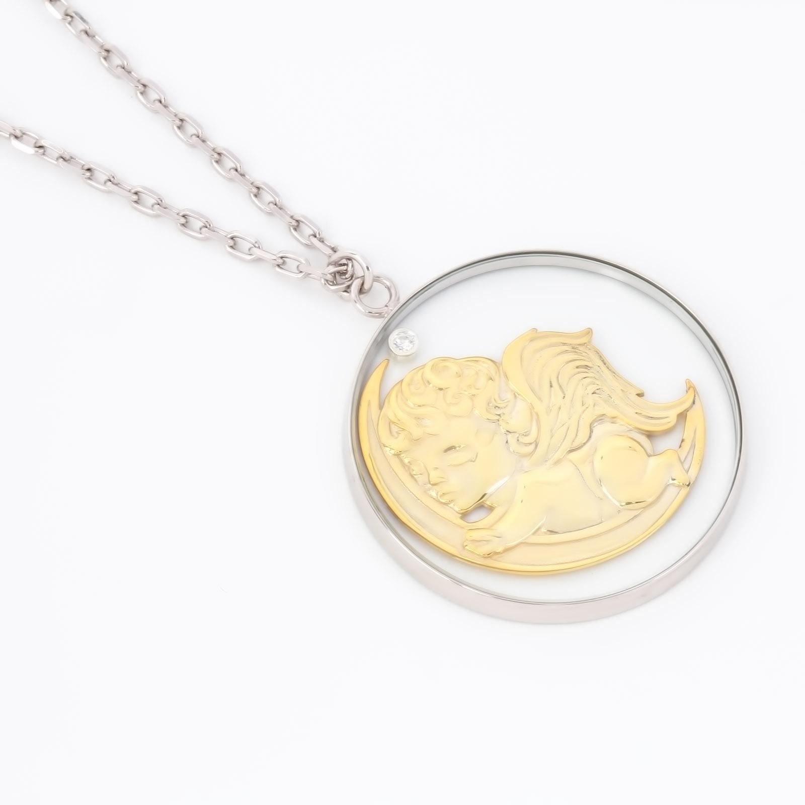 Серебряное колье  «Ангел»