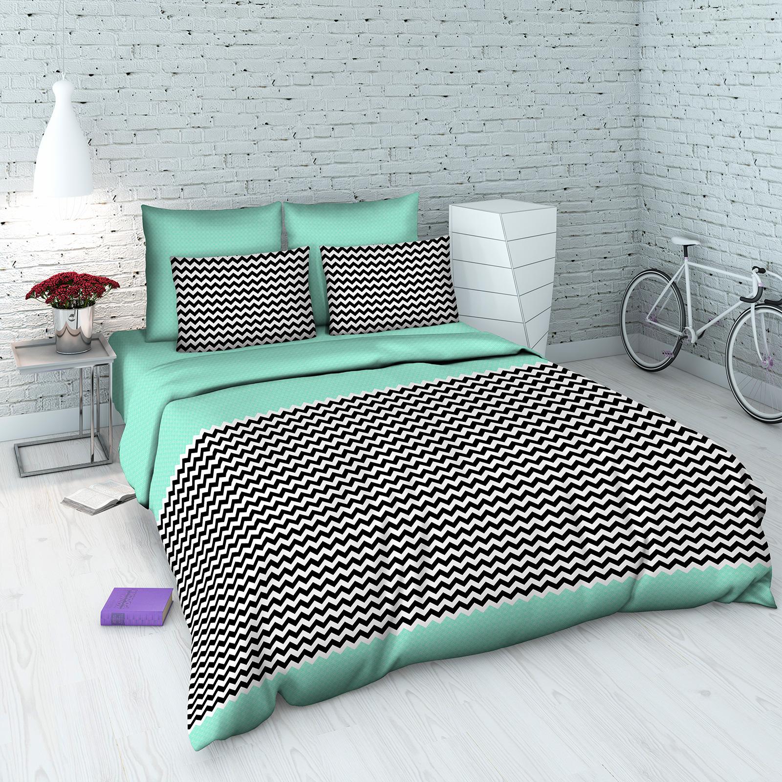 Комплект постельного белья «Стильная графика»