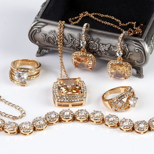 Шкатулка с украшениями «Мои сокровища»