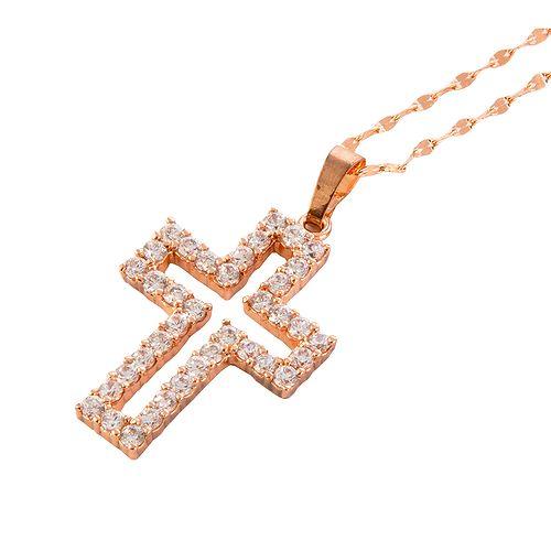 Декоративная подвеска-крест «Сияние»